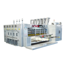 HIgh speed flexo automatic 4 colors corrugated  cardboard printing  slotting die-cutter packing machinery