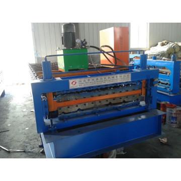 Machine de formage de tôles de toiture en acier de couleur