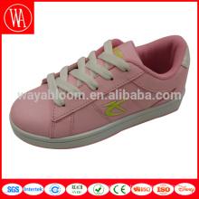Необычная повседневная обувь для девочек сладкого розового цвета на заказ