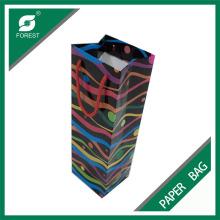 Hochwertige, recycelbare, benutzerdefinierte, bedruckte, bunte Papiertüte