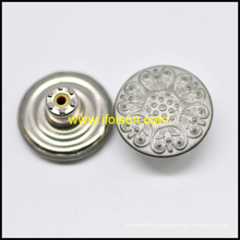 Classic Metal Jeans Button for Trousers