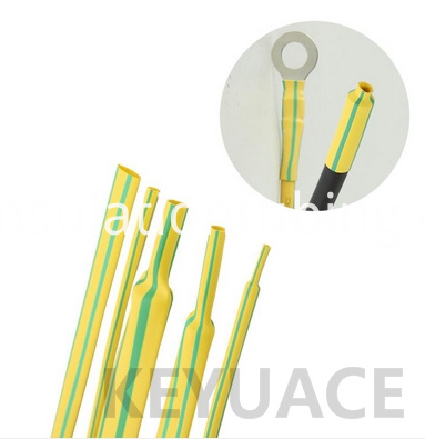 Yellow Heat Shrink Sleeve For Earth Wire