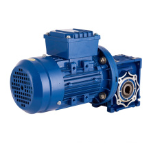 NMRV75  ratio:25:1 1.5kw 90LB5 flange worm gearbox with electric motor