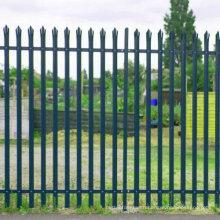 Powder Coated Wrought Iron Palisade Fence