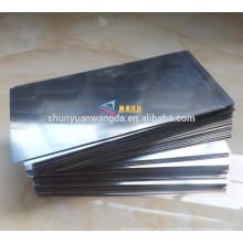 Folha de Molibdênio Laminada ASTM B386 99,95%
