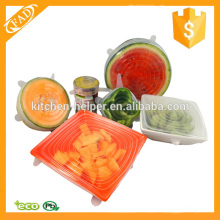 Multi Size 6 Silicone Lids Food and Bowl Covers