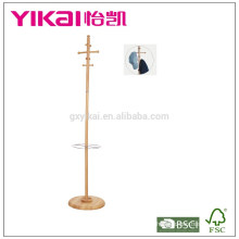 Luxious valet solid wood clothes hanger for valuable clothes