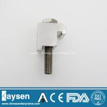 ISO63-100 M8 Single Wall Clamp Alunimum
