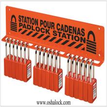 Lock Safety Padlock Rack