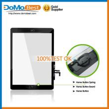 Pantalla táctil de aire, venta por mayor Touch pantalla digitalizador lente de cristal para iPad para iPad 5 pantalla