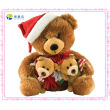 Cheap Plush Christmas Bear Promotional Gifts