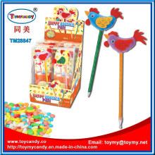 Neuheit Hahn Huhn Kugelschreiber Spielzeug mit Süßigkeiten