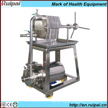 Stainless Steel Plate and Frame Press Filter Machine