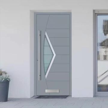 Portas interiores sólidas niveladas com painel duro
