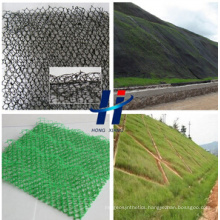 3D Geomat and Three -Dimensional Geomat and 3D Erosion Control Mat and Plastic Geomat