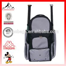 Esporte mochila Softball Bag para 4 morcegos com vários bolsos