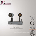 Chrome Hotel Decorative Metal Wall Lamp with Two Light Source