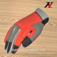 Фарфор красный дешевый инструмент рабочие перчатки для мужчин