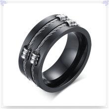 Accesorios de moda de joyería de acero inoxidable anillo de moda (SR262)