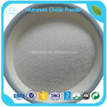 Alúmina fundida blanca refractaria de alta pureza de la materia prima de la pureza elevada