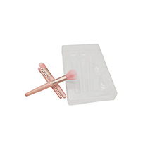 Одноразовая кисть для макияжа блистерная пластиковая вставка для лотка