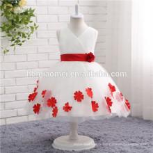 2017 nouvelle mode Enfants Groupe d'âge et articles en stock Type de fournitures robes de fille de fleur