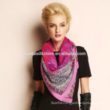 Fashion 100% wool winter designer scarf wholesale china
