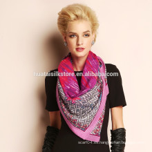 Forme la bufanda 100% del diseñador del invierno de las lanas al por mayor China