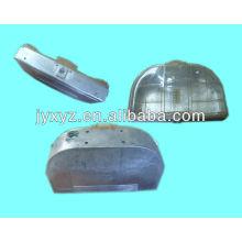 die-cast aluminum