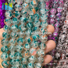 import 8mm glass crackle beads jewelry beads from china