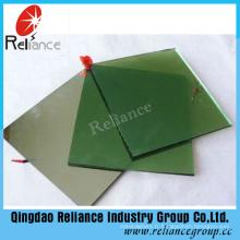 Verre teinté vert foncé de 4-8mm avec ISO9001 et certificat de Ce
