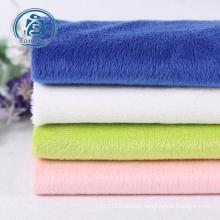 Factory direct plush velvet fabric super soft velvet fabric for curtains and upholstery