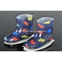 Новый стиль высокое качество мода девочек детский Rainboots
