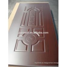 HDF melamina puerta piel 4.5mm