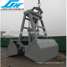 25T12cbm single rope radio remote control clamshell hydraulic grab bucket with classification society certification