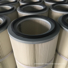 FORST High Filtration Efficiency Cylindrical Dust Filter Cartridge