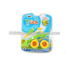 23 centímetros de caminhão de empilhadeira roda livre DIY brinquedos, brinquedos educativos