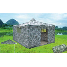 Outdoor military awning (woodland camouflage belt cloth)