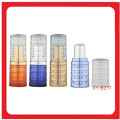 Transparent colorful Lipstick Tube