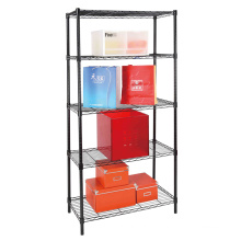 Adjustable 5 Tiers Metal Wire Snack Display Rack Manufacturer (LD9035180A5E)