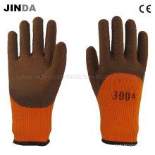 Ткани Пряжа Лайтер Латексные пены Промышленные рабочие рабочие перчатки (LH801)