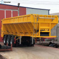 50Tons U Shape Conveyor Belt Semi Trailer