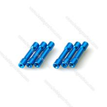 Hersteller guter Preis für farbige M3 farbigen Schritt Aluminium Spacer, M3 Abstand