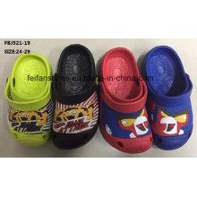 Sapatilhas da forma dos calçados de jardim da qualidade superior EVA para crianças (FBJ521-19)