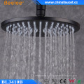 """10 """"rond noir Ss304 plafonnier mur suspension pluviale douche"""