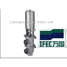 Vanne à siège simple pneumatique (IFEC-SV100002)