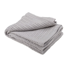 Hospital Wholesale Cotton Thermal Cellular Leno Blankets
