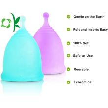 Coupes menstruelles réutilisables en silicone pour femme écologique