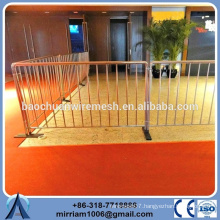 durable and anti-rust various used metal Crowed Control Barrier event barrier for sale