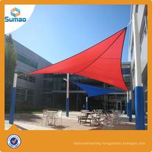 190g Sand Beige Patio Plastic Sun Shade Sail made of HDPE